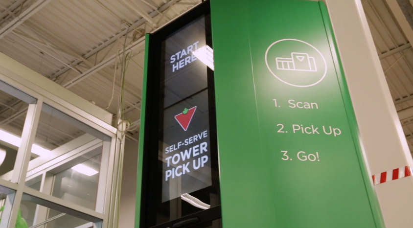560f9a36cbf Canadian Tire brings 'Self-Serve Pick-Up Towers' to Canada