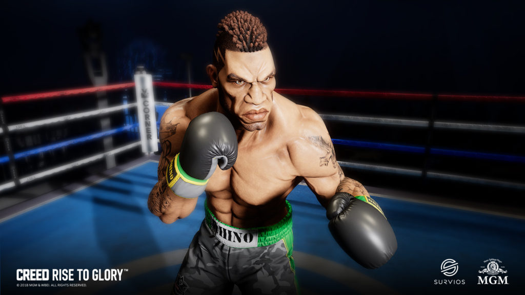 Creed boxer