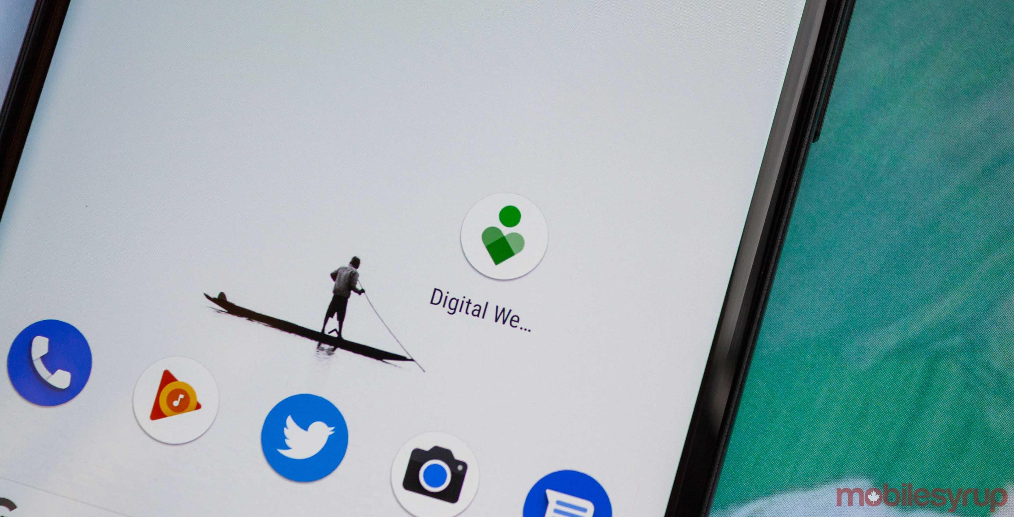 Digital Wellbeing app icon