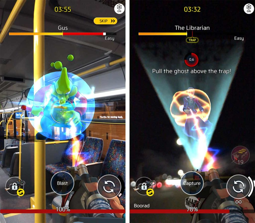 Ghostbusters World ghost catching