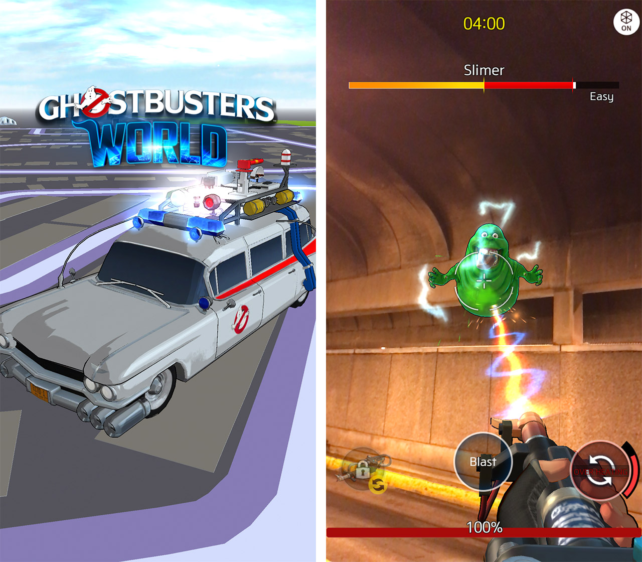 Ghostbusters World header