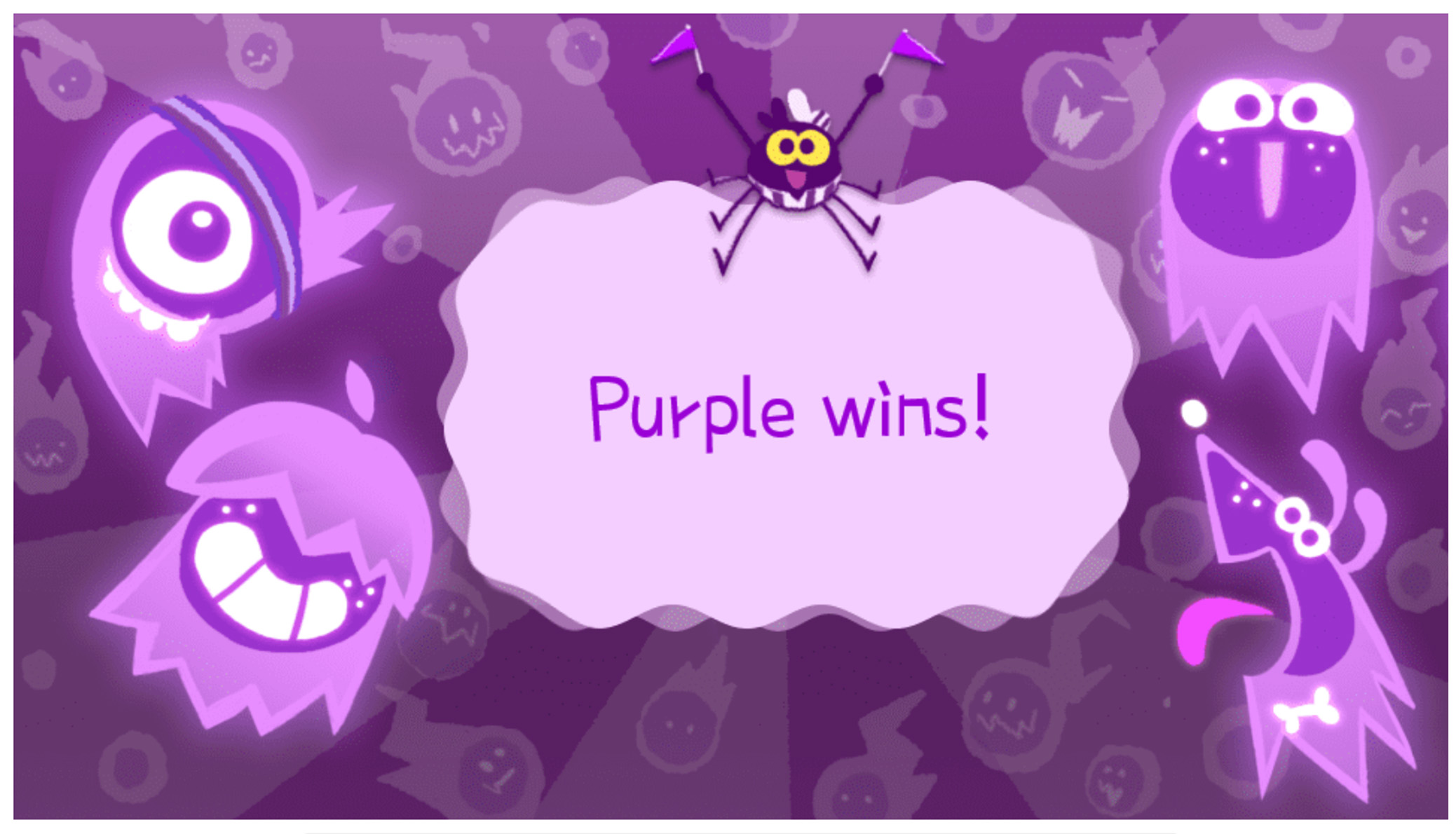 google celebrates halloween with doodle game assistant interactions google celebrates halloween with doodle