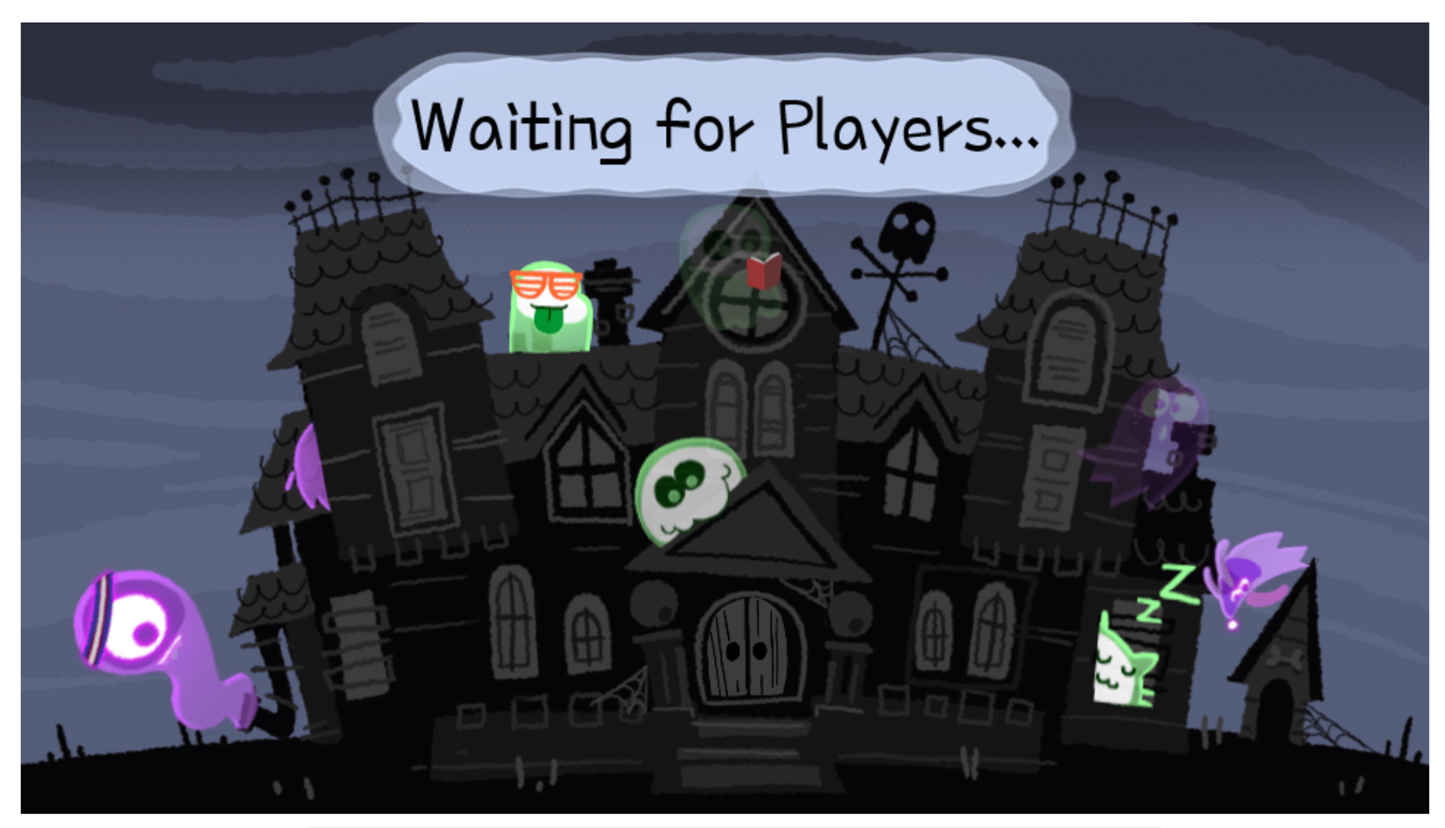 Google Doodle celebrates Halloween with multiplayer game