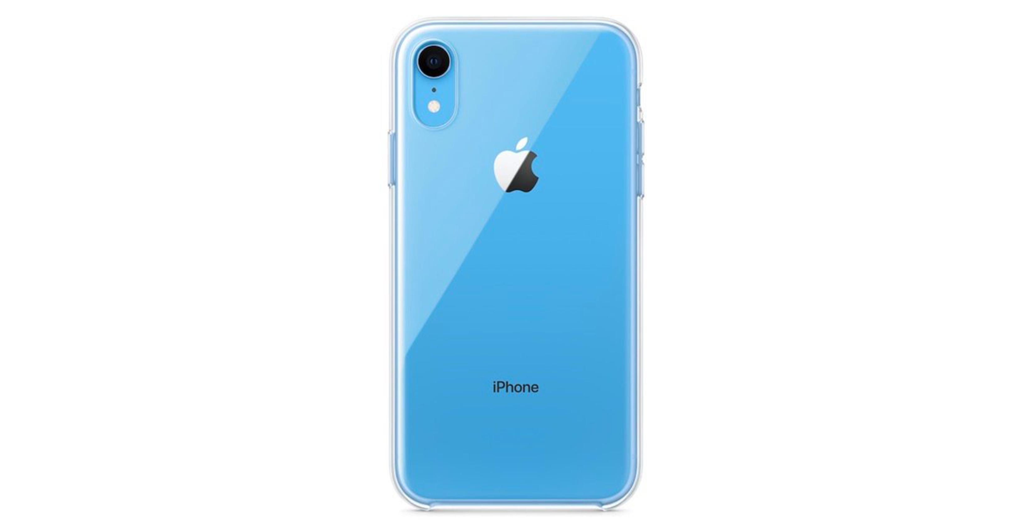 iPhone XR translucent case
