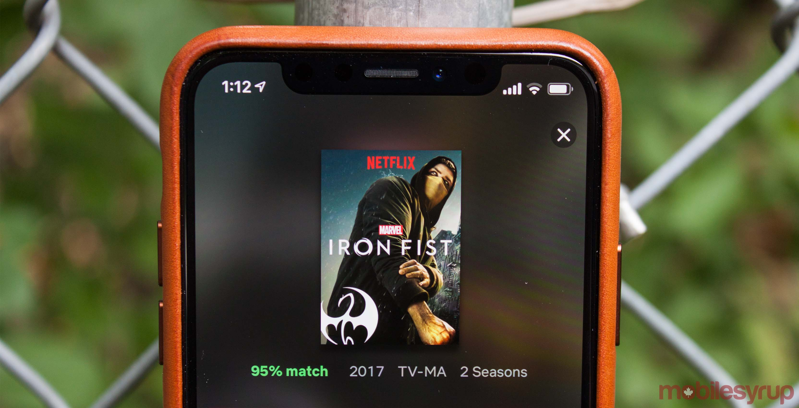 Iron Fist on Netflix