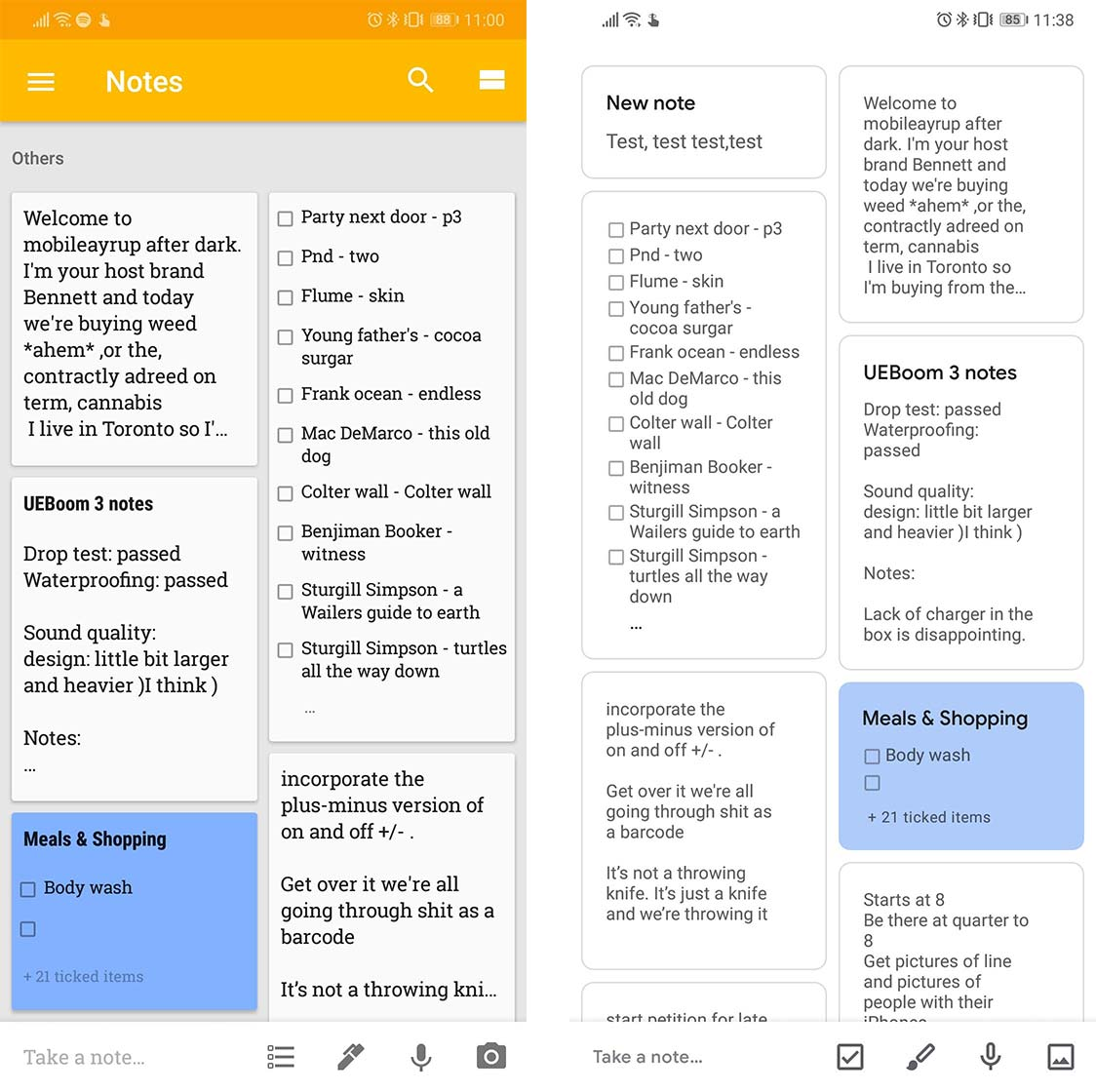 Google Keep is the next app to get Google's modern Material