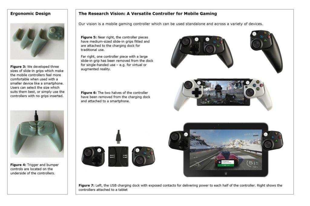 Microsoft mobile controller