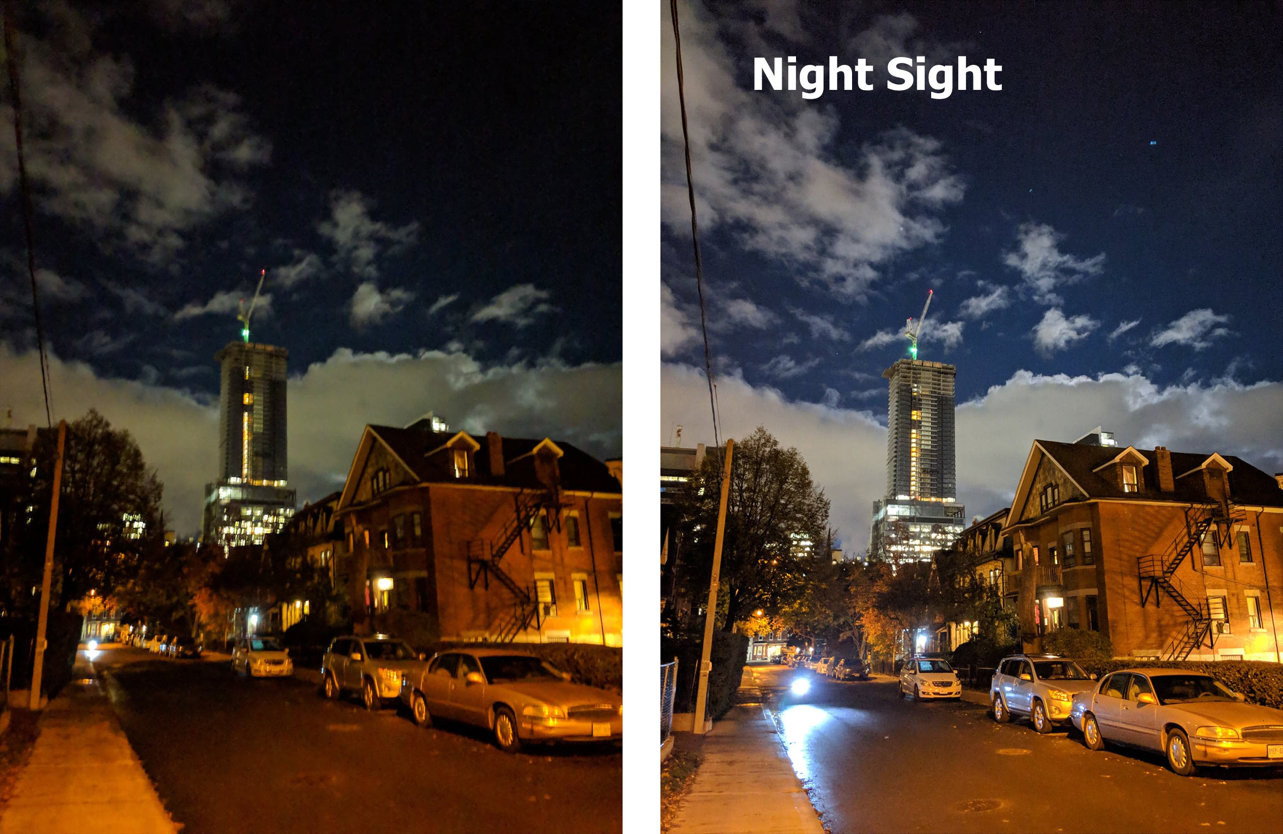 Here are pictures shot with the Pixel 3's 'Night Sight' camera feature