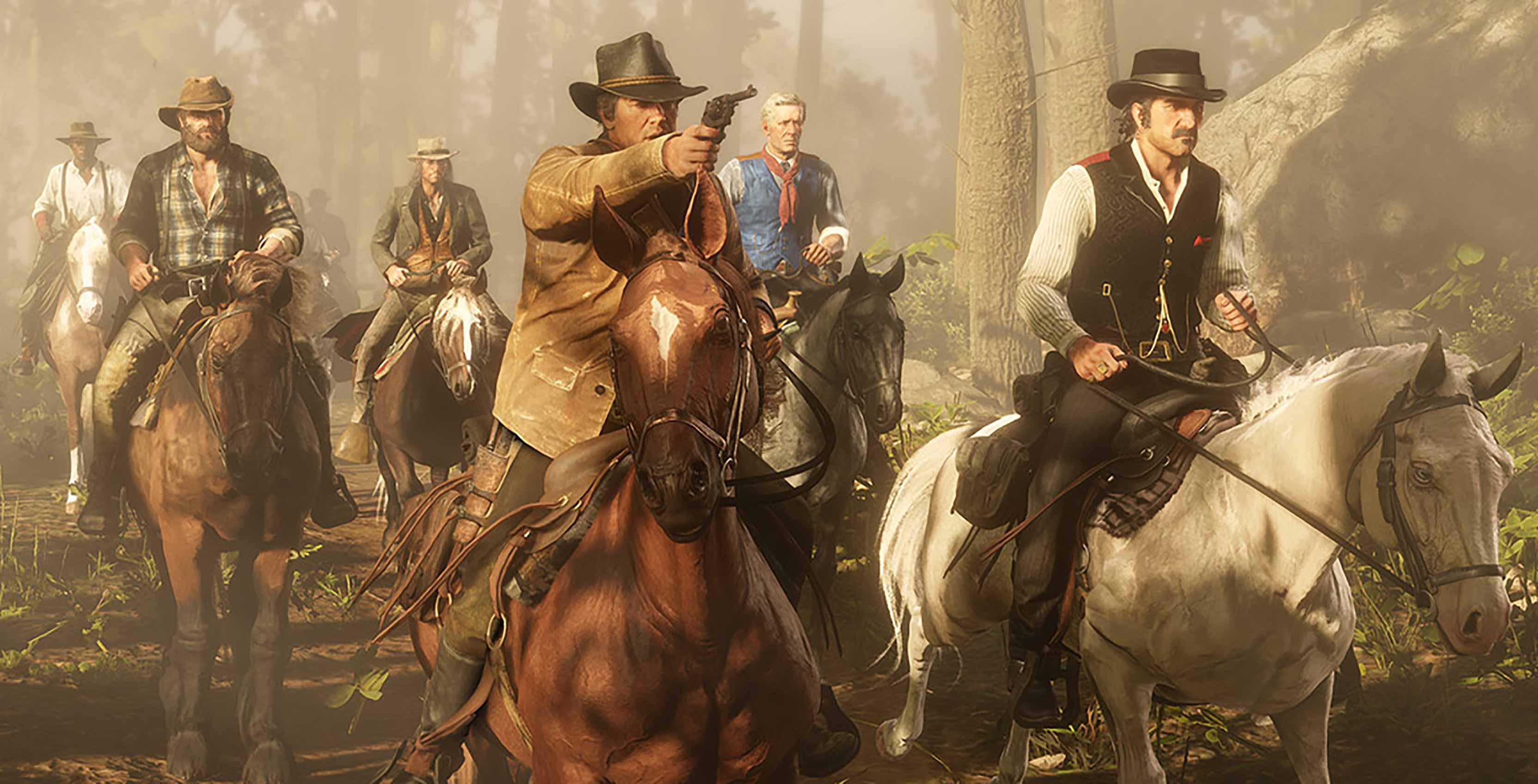 Red Dead Redemption 2 Van Der Linde gang