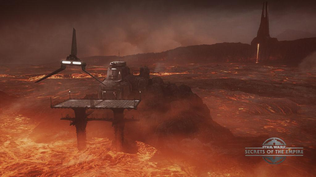 Star Wars Secrets of the Empire Mustafar