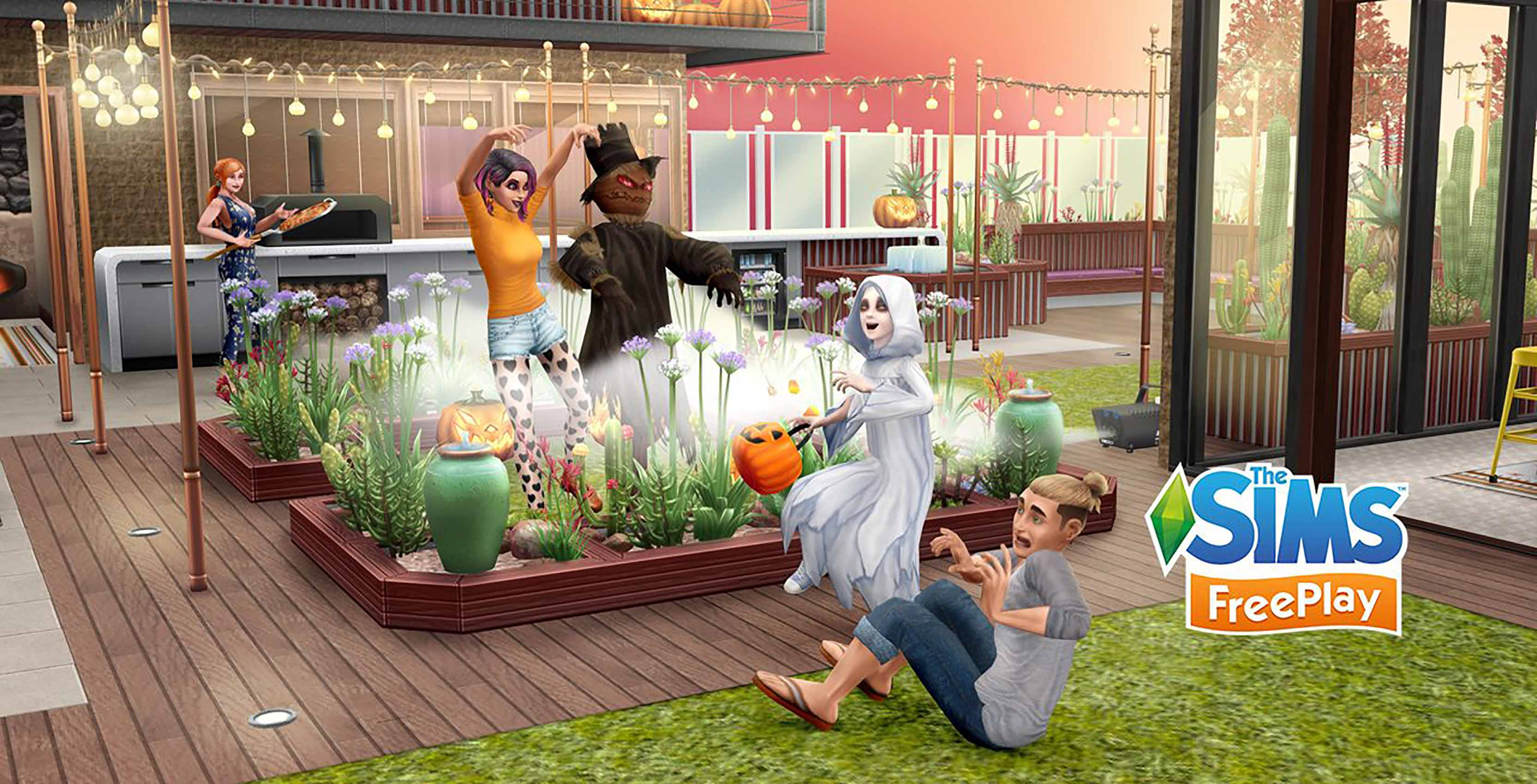 The Sims FreePlay Halloween