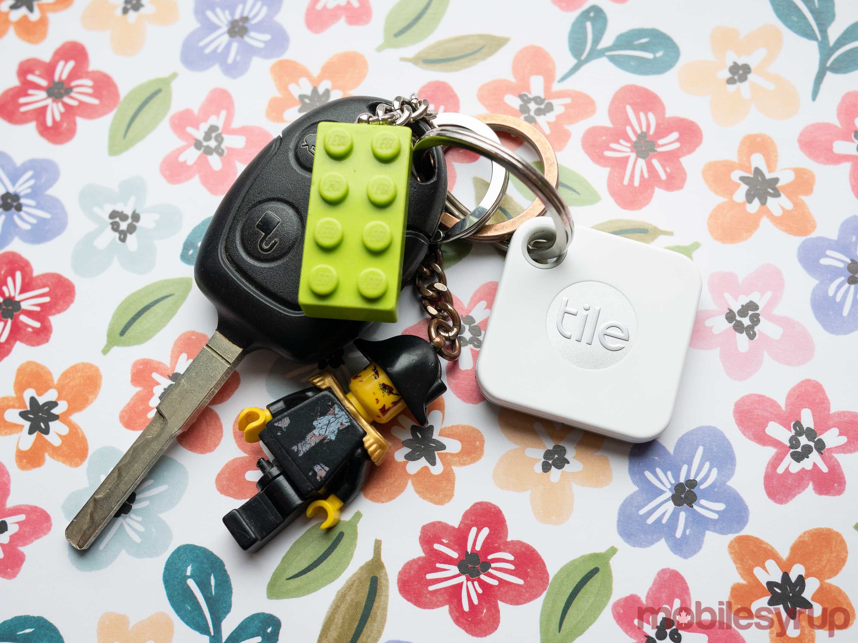 Tile Mate on keychain