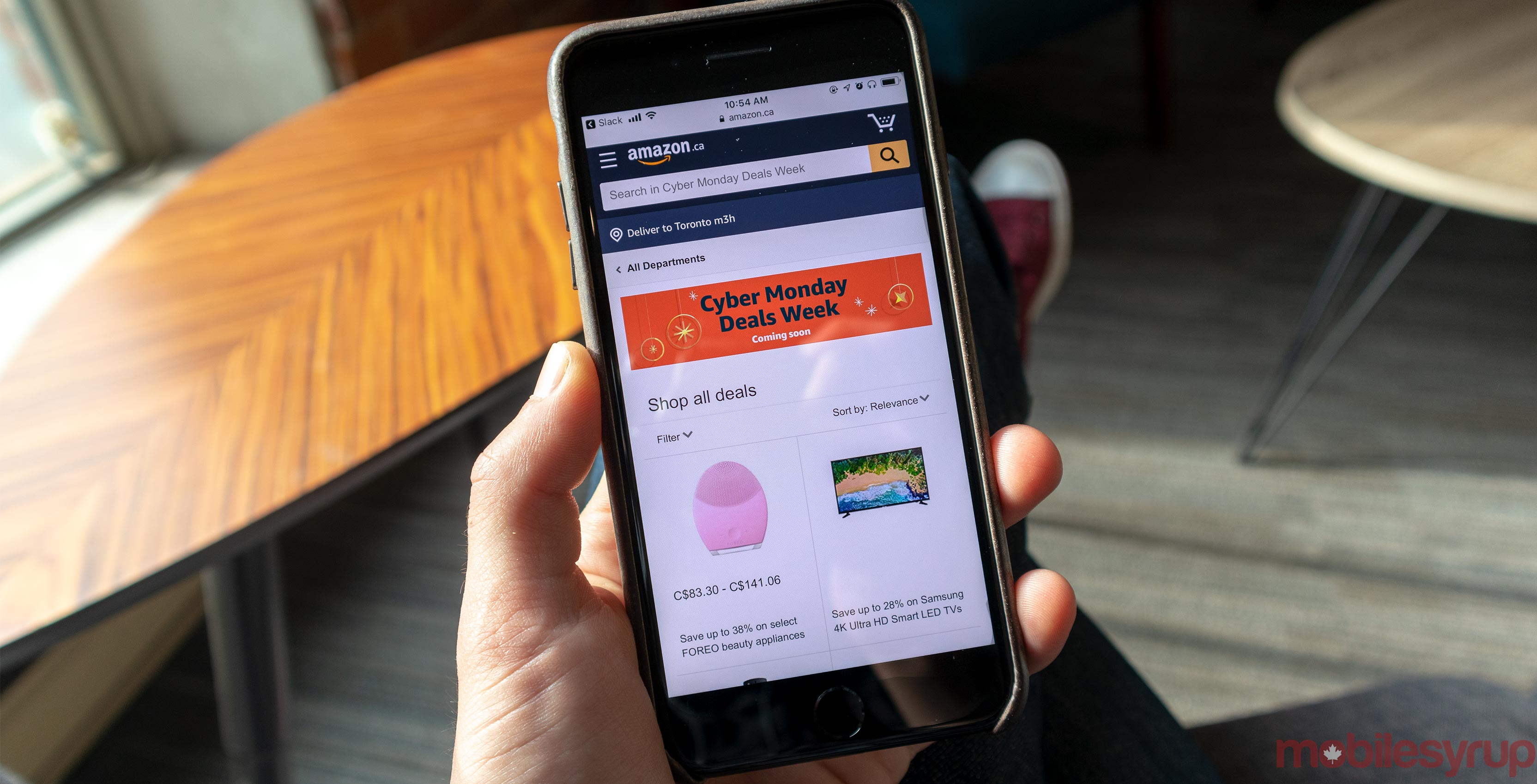 67bc39c486c9 Black Friday is already in full force but yet Amazon Canada is already  thinking about Cyber Monday. While Canadians can score a bunch of tech at a  ...