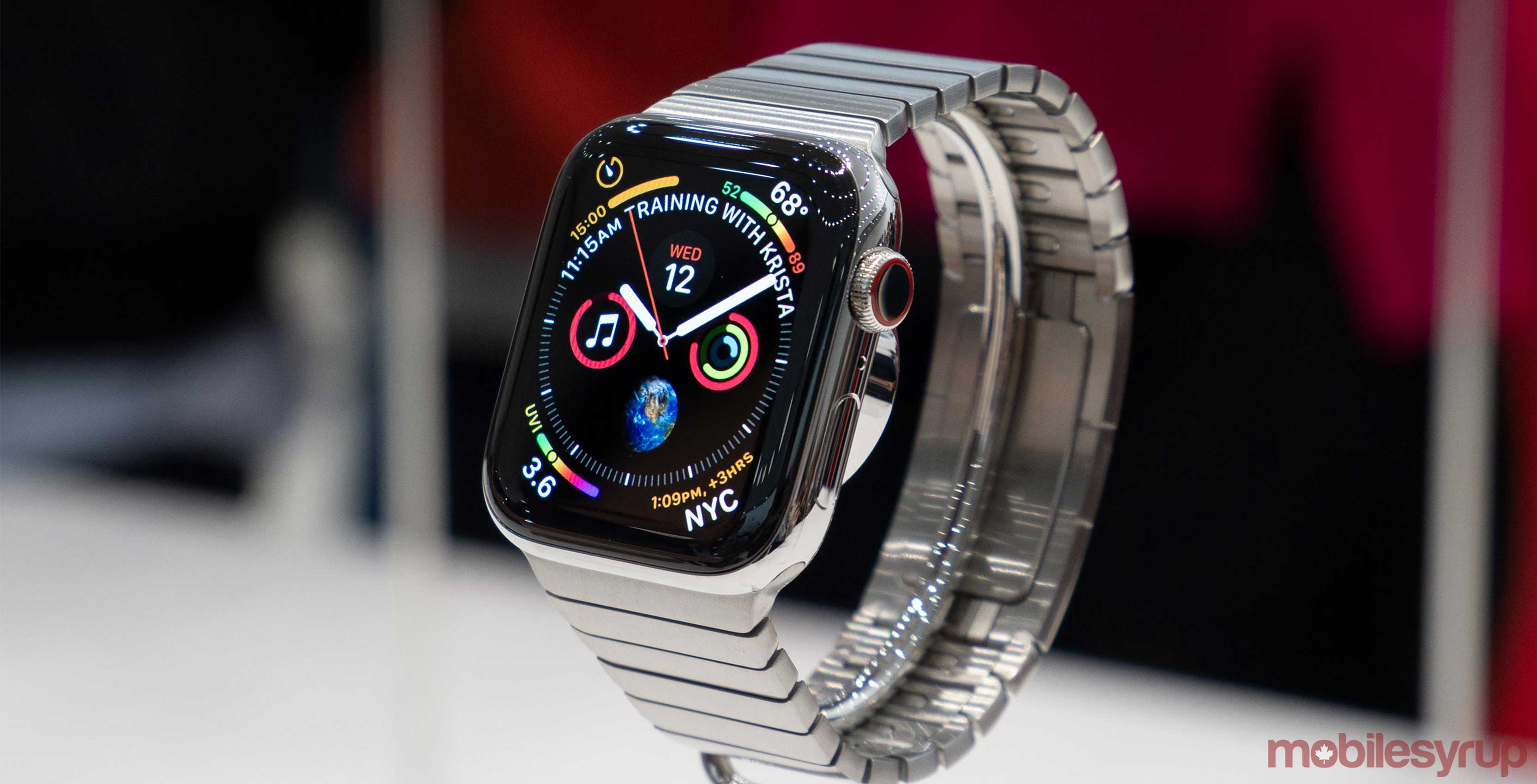 brand new 2f092 9a9ac Seven new app complications leak for Apple Watch Series 4