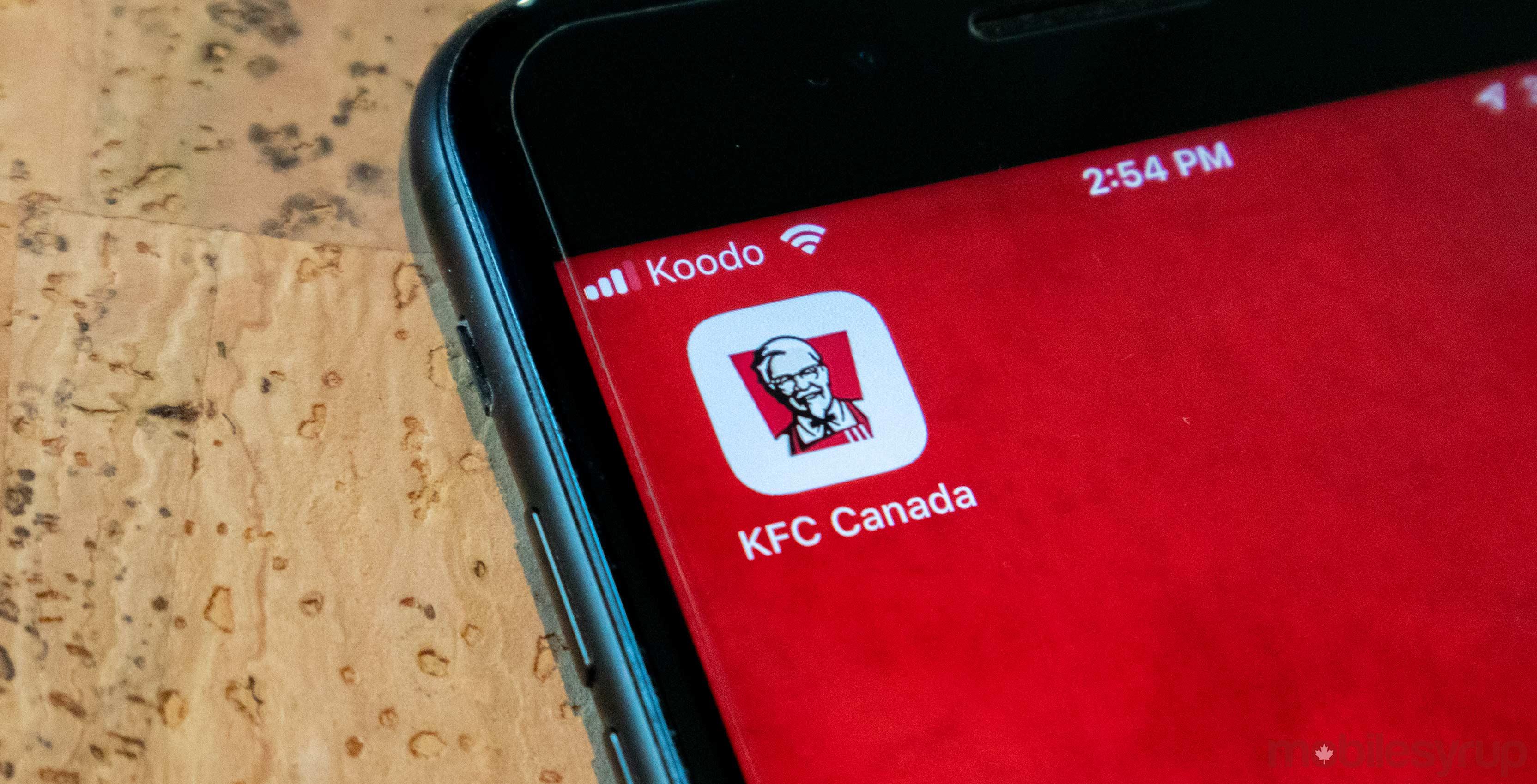 KFC header