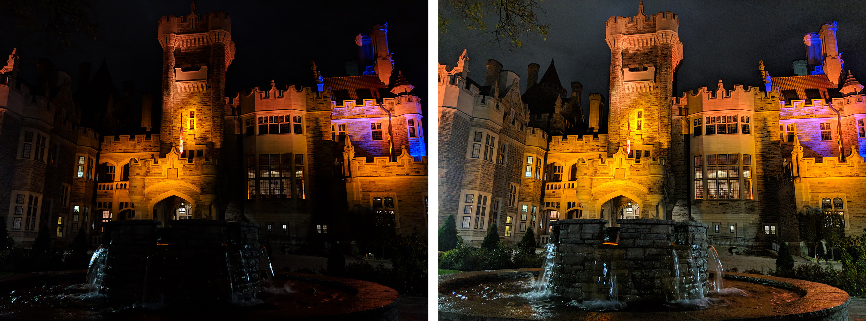 Pixel 3 Night Sight comparison