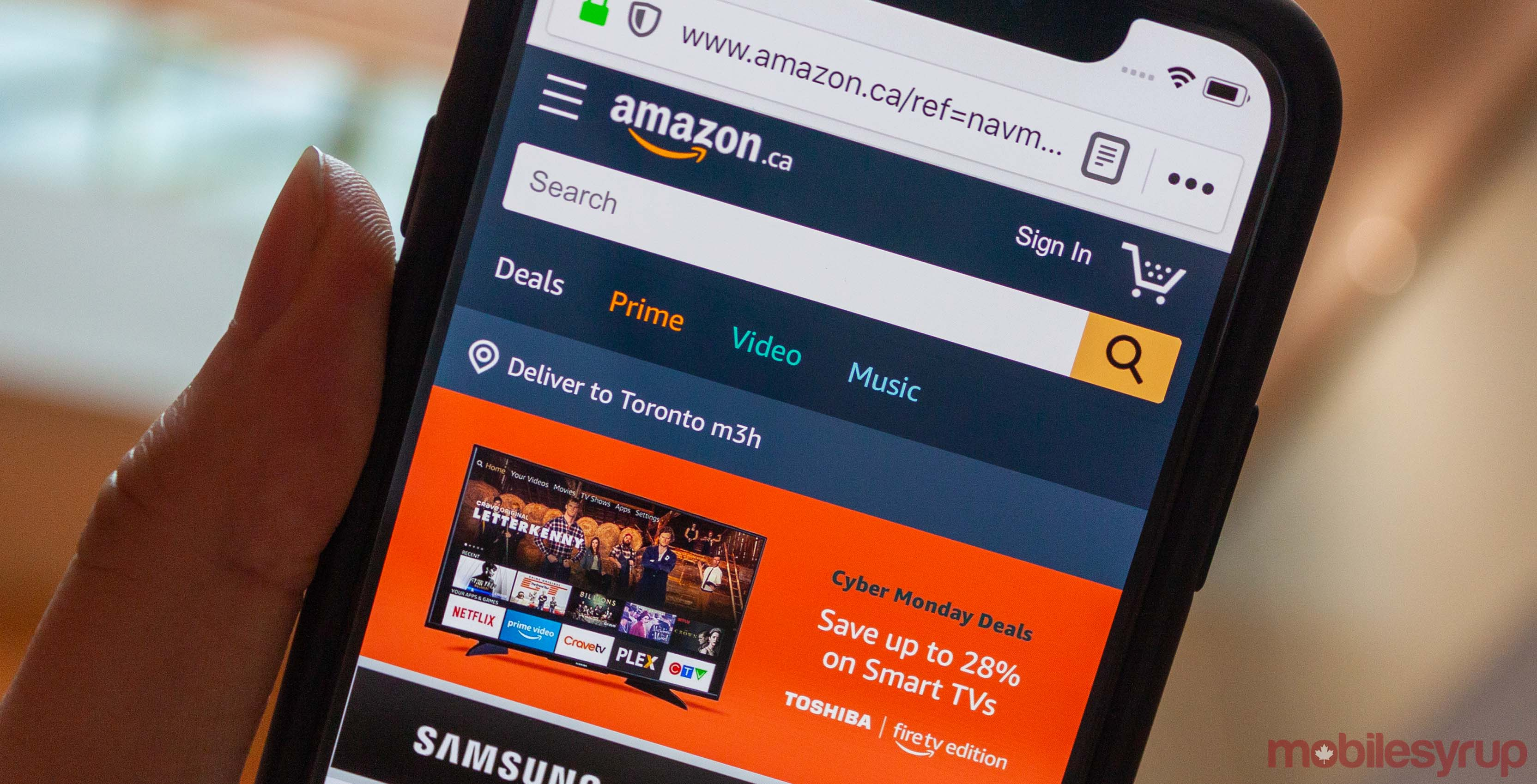 Amazon Canada discounts select tech products for Mother's Day