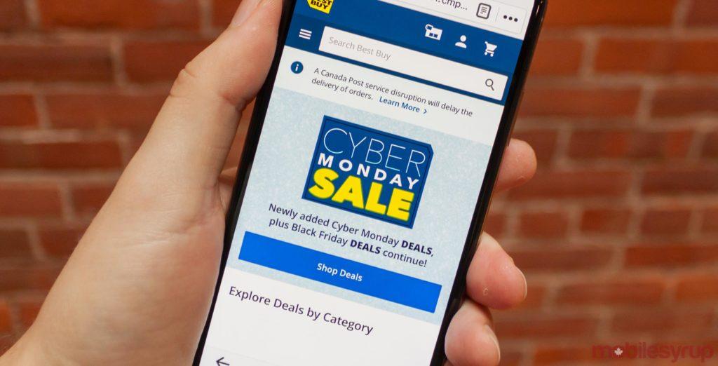 Best Buy Canada Cyber Monday 2018 tech deals