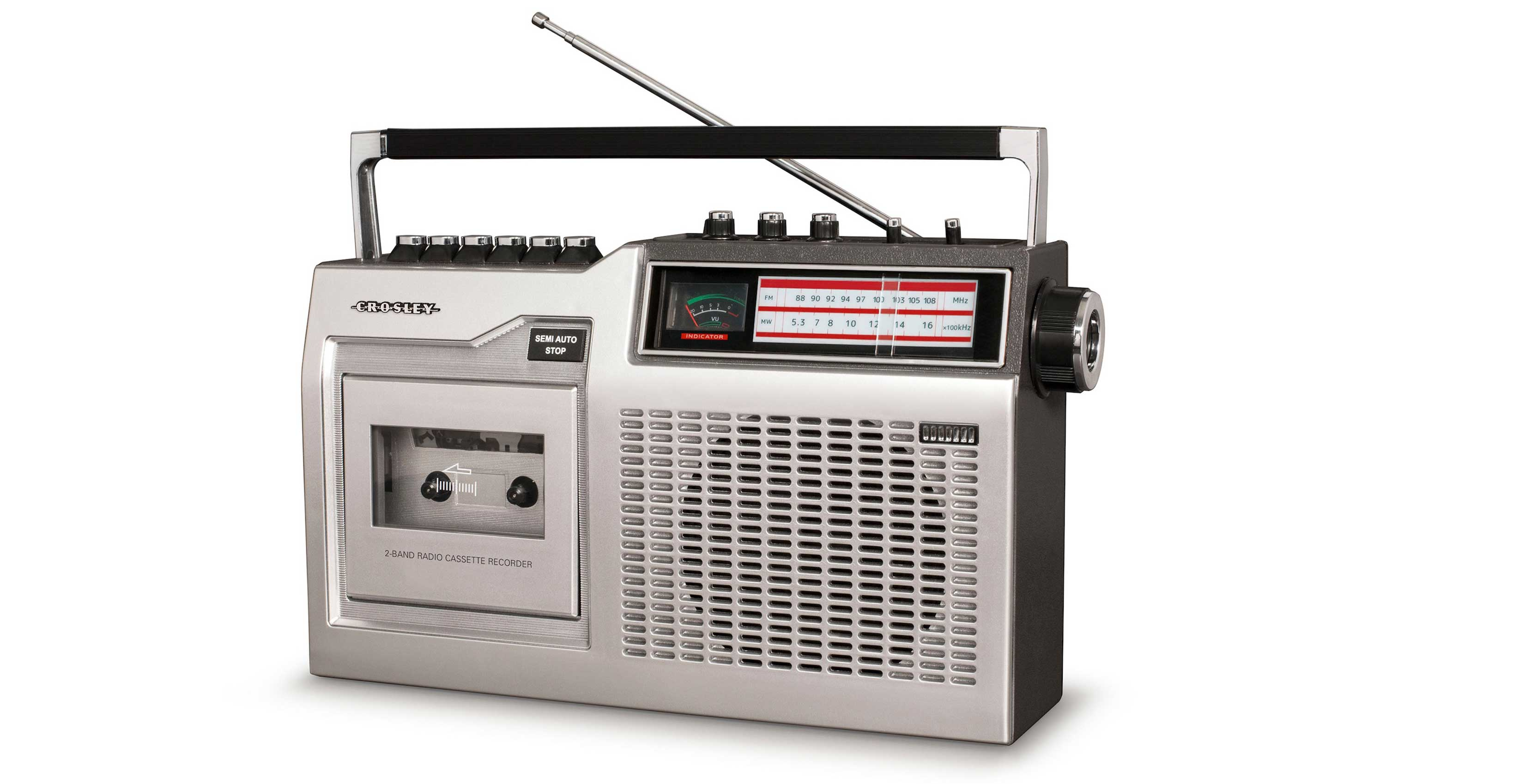 Crosley is making retro stereos that play cassette tapes
