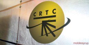CRTC logo on wall