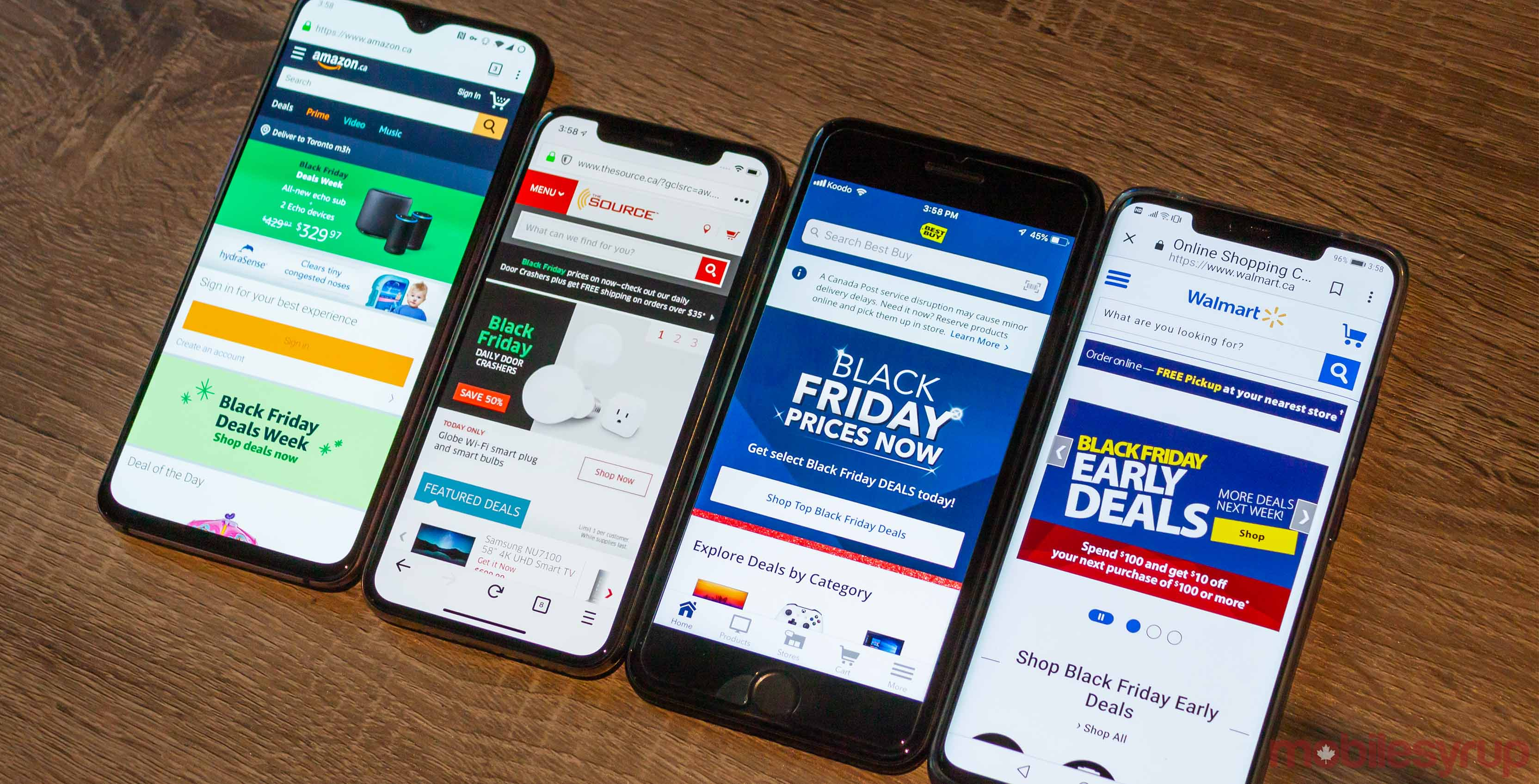 Here S A Roundup Of Major Canadian 2018 Black Friday Cyber Monday Tech Deals