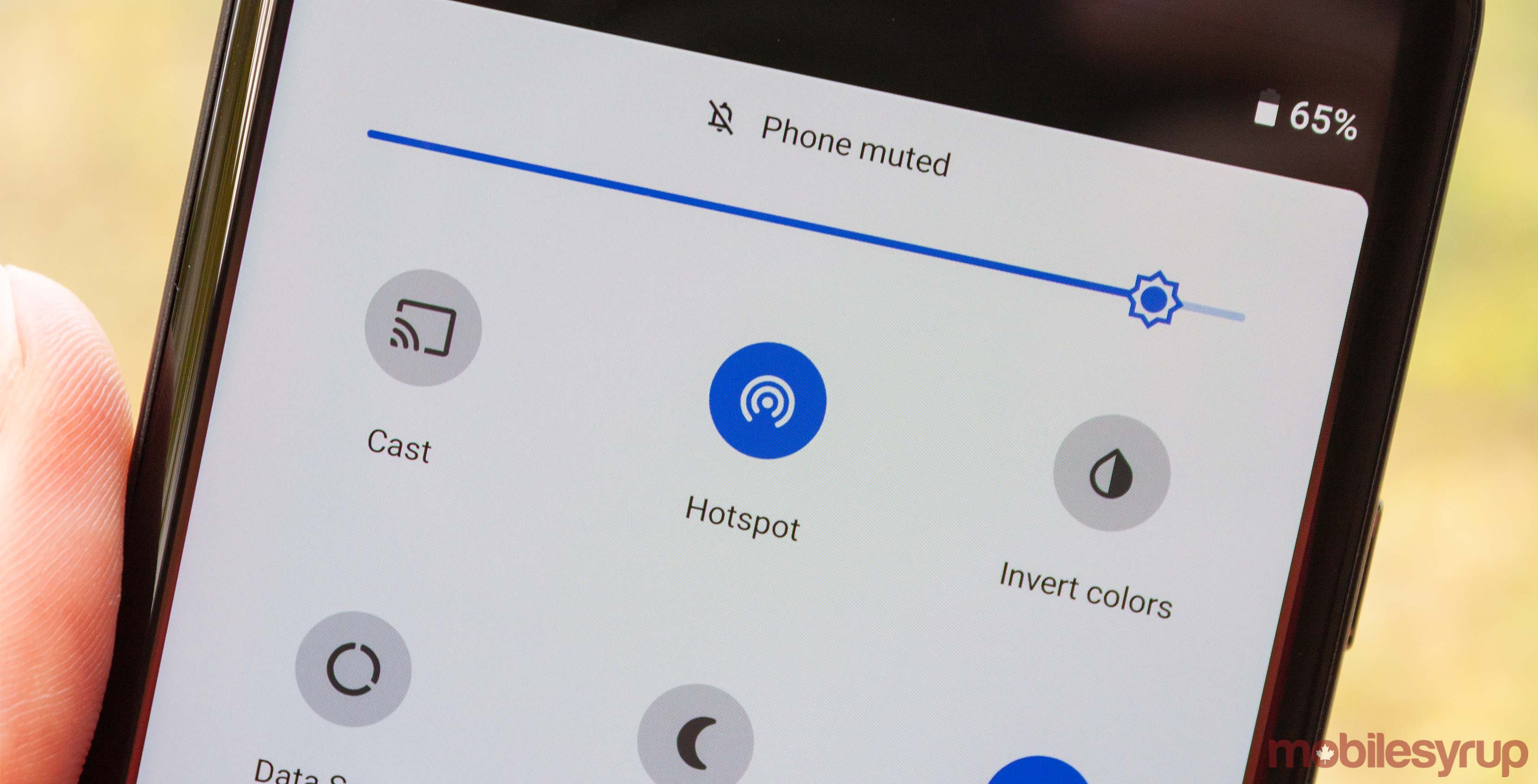 Google's Pixel 3 and 3 XL can hotspot Wi-Fi as well as LTE