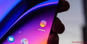 Instagram on the OnePlus 6T