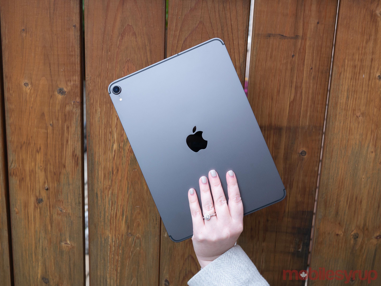 iPad Pro 2018 rear