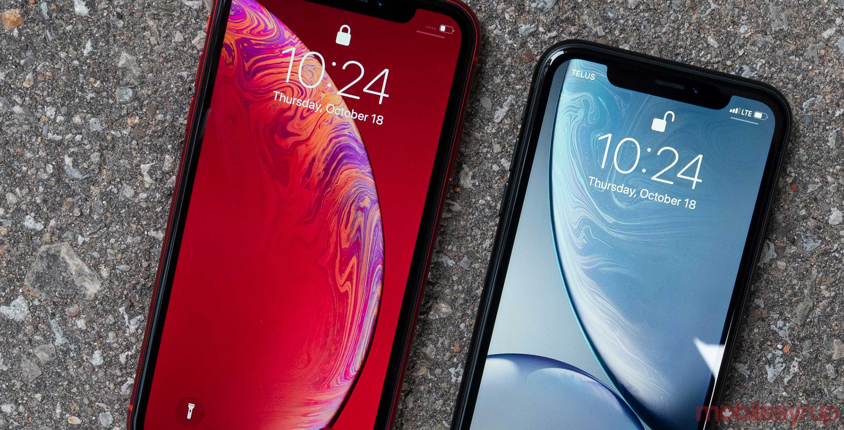 Apple issues new version of iOS 12 1 for iPhone XR