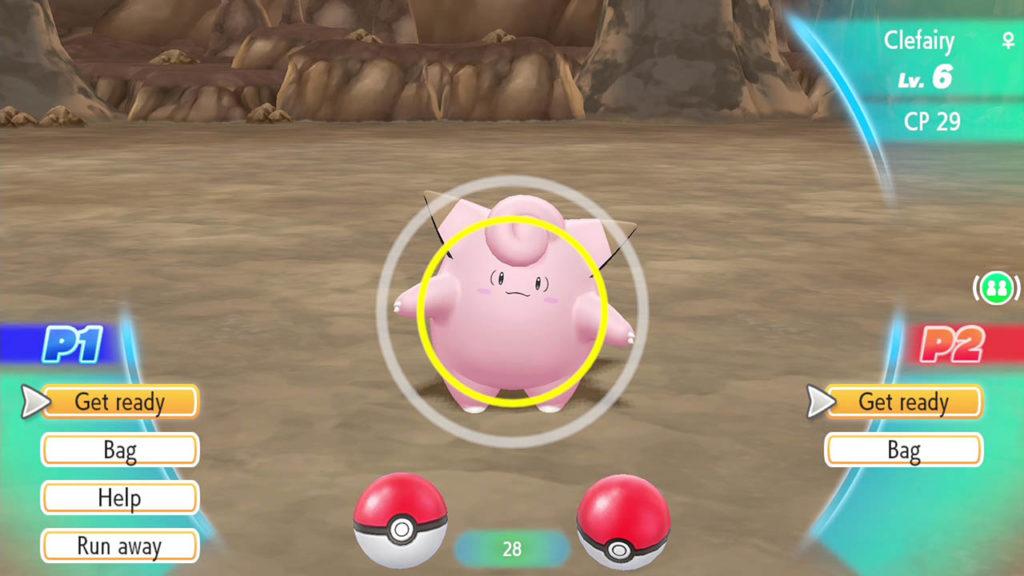 Pokemon Let's Go Clefairy