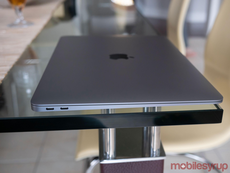 MacBook Air side view