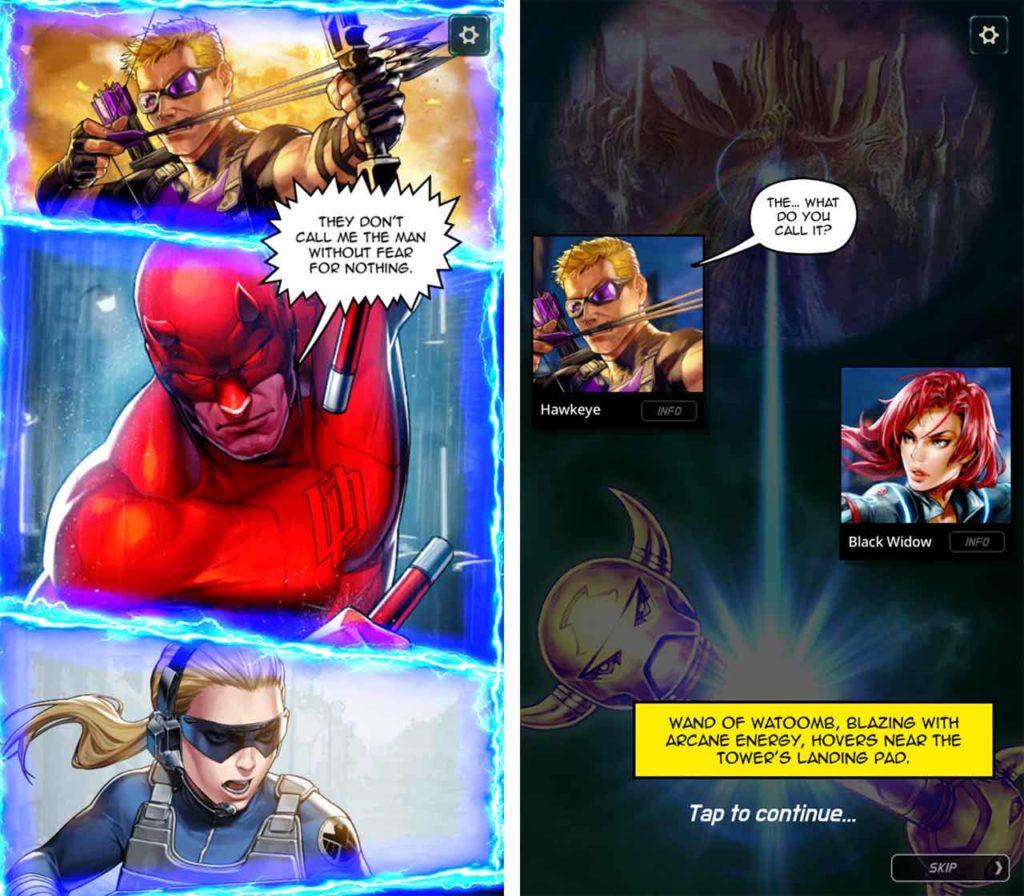 Marvel Battle Lines comics