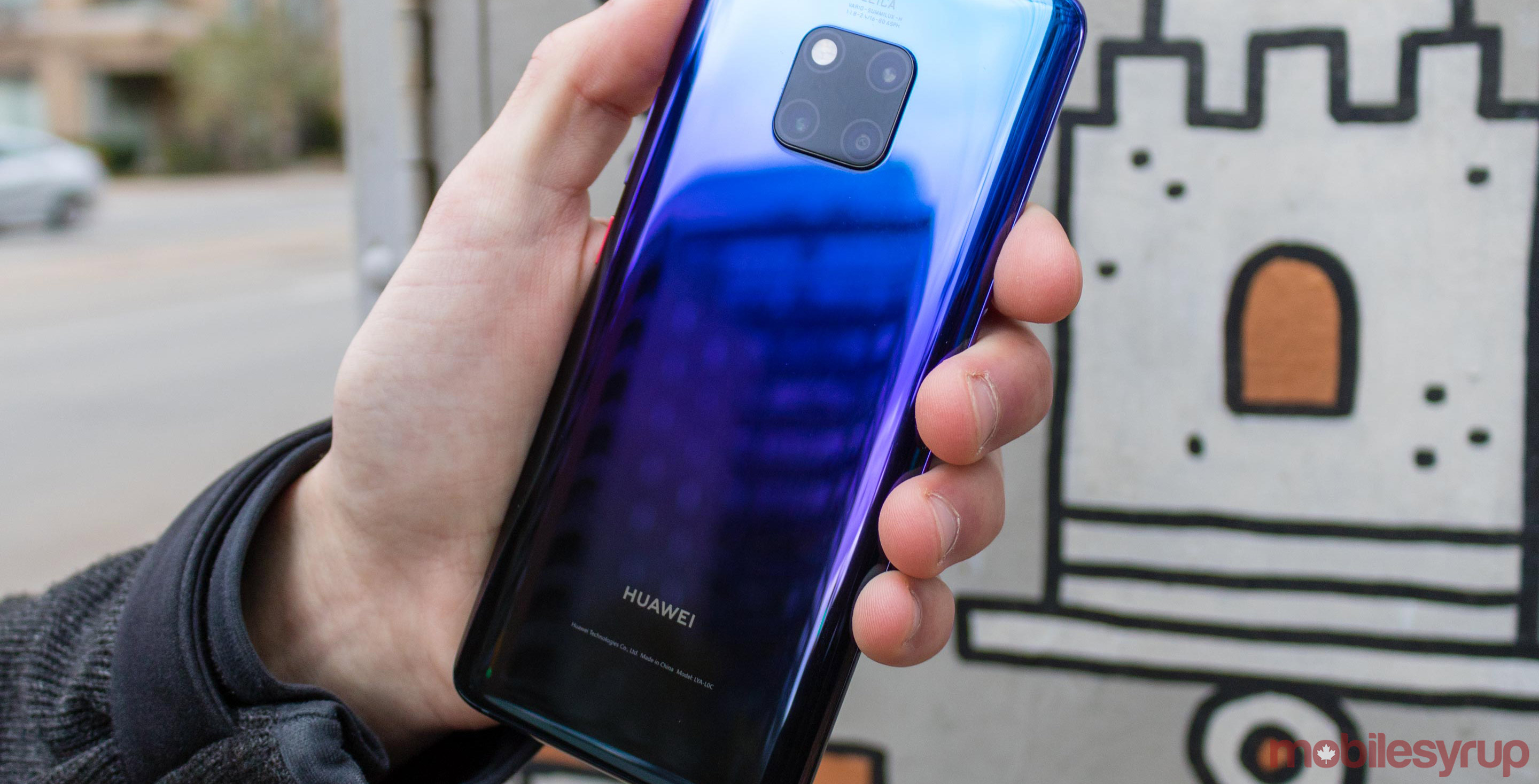 Here's an alleged live image of Huawei's Mate 30 Pro