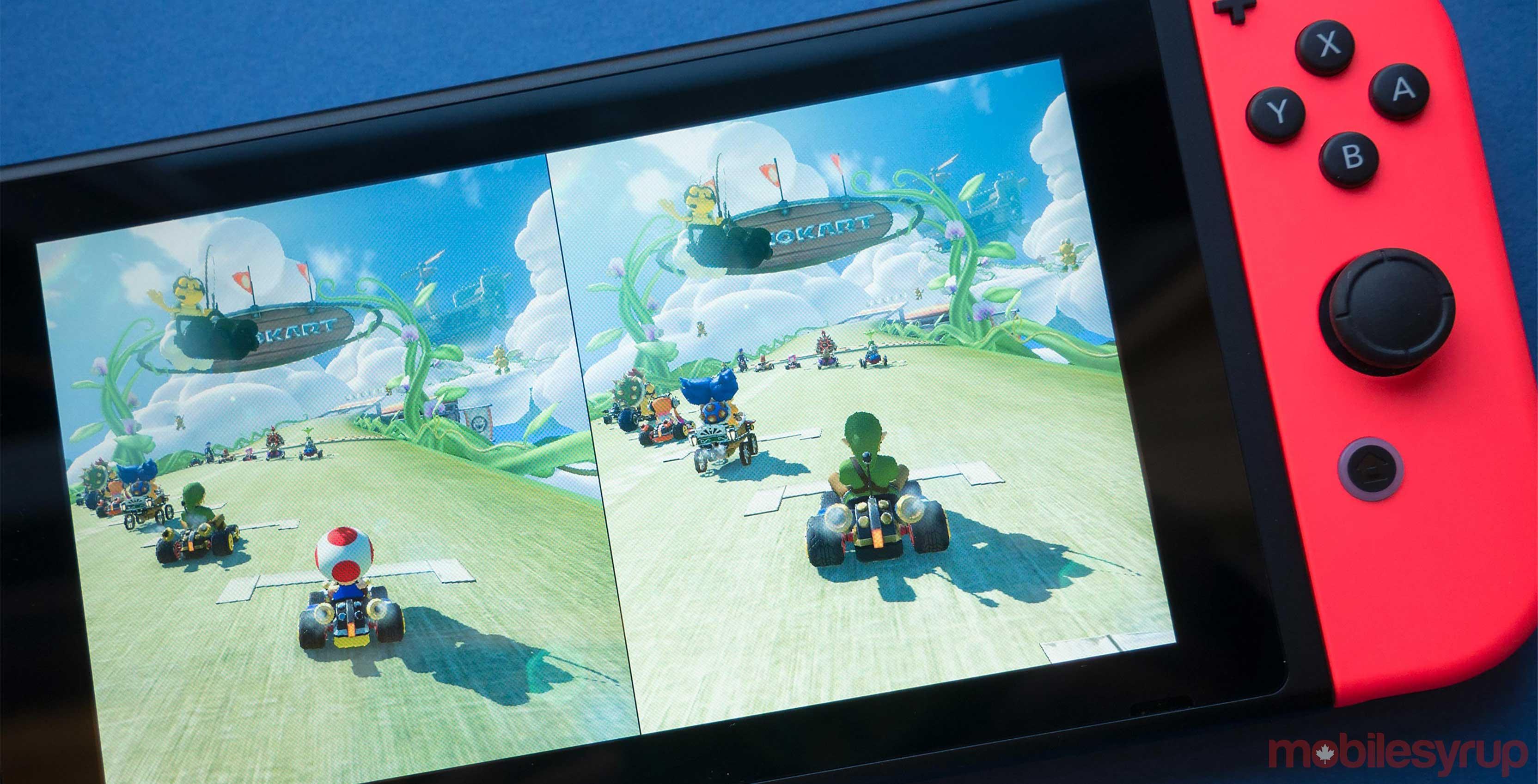 Nintendo Switch Mario Kart 8 Deluxe Link