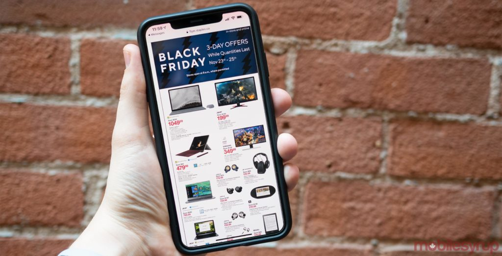 Staples' 2018 Black Friday tech deals