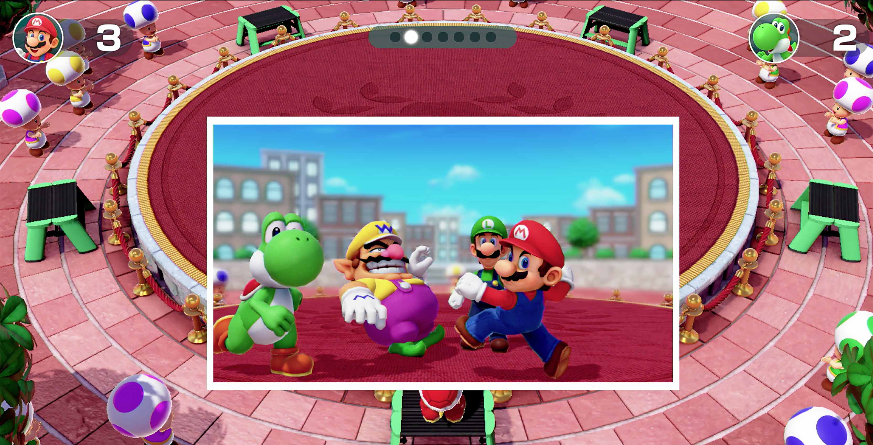 Super Mario Party characters
