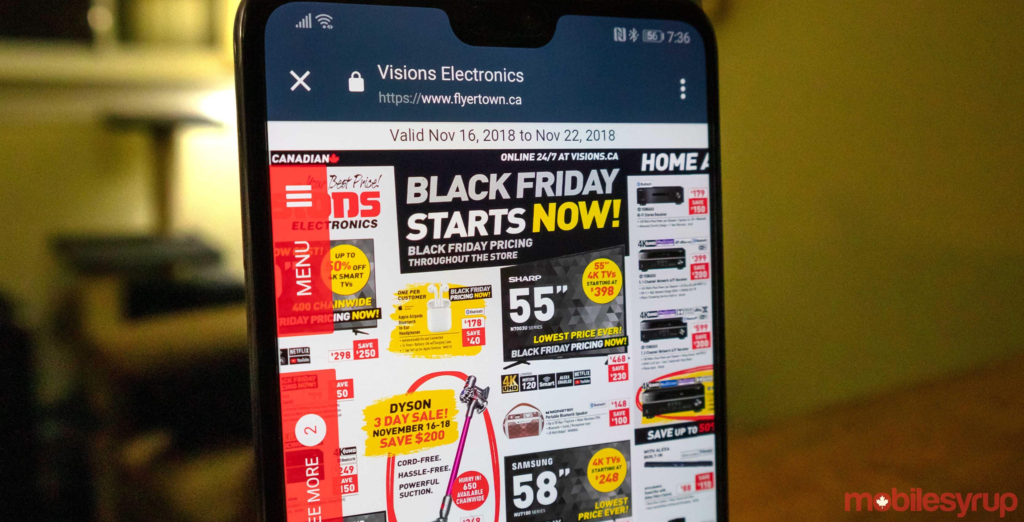 50bf538e31d Visions is offering a variety deals on tech products this Black Friday
