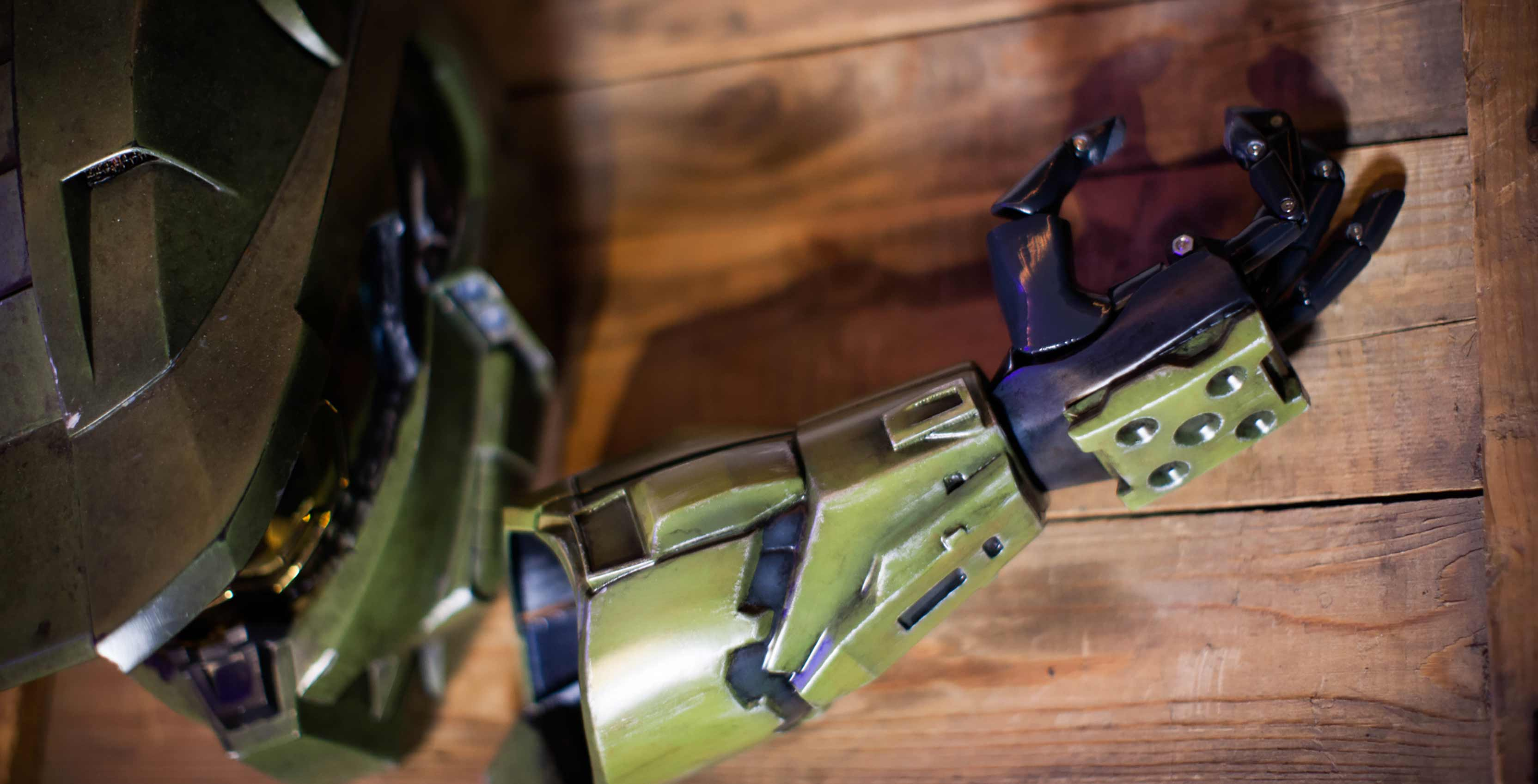Industries and Limbitless Solutions Partner for Halo-Themed 'Bionic Arm' Prosthetic