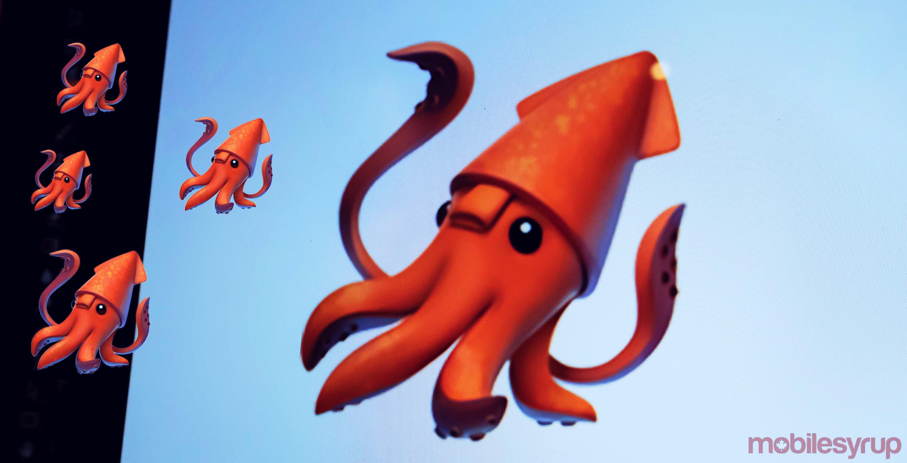 Apple's Squid emoji isanatomically incorrect and a U.S. aquarium wants it changed