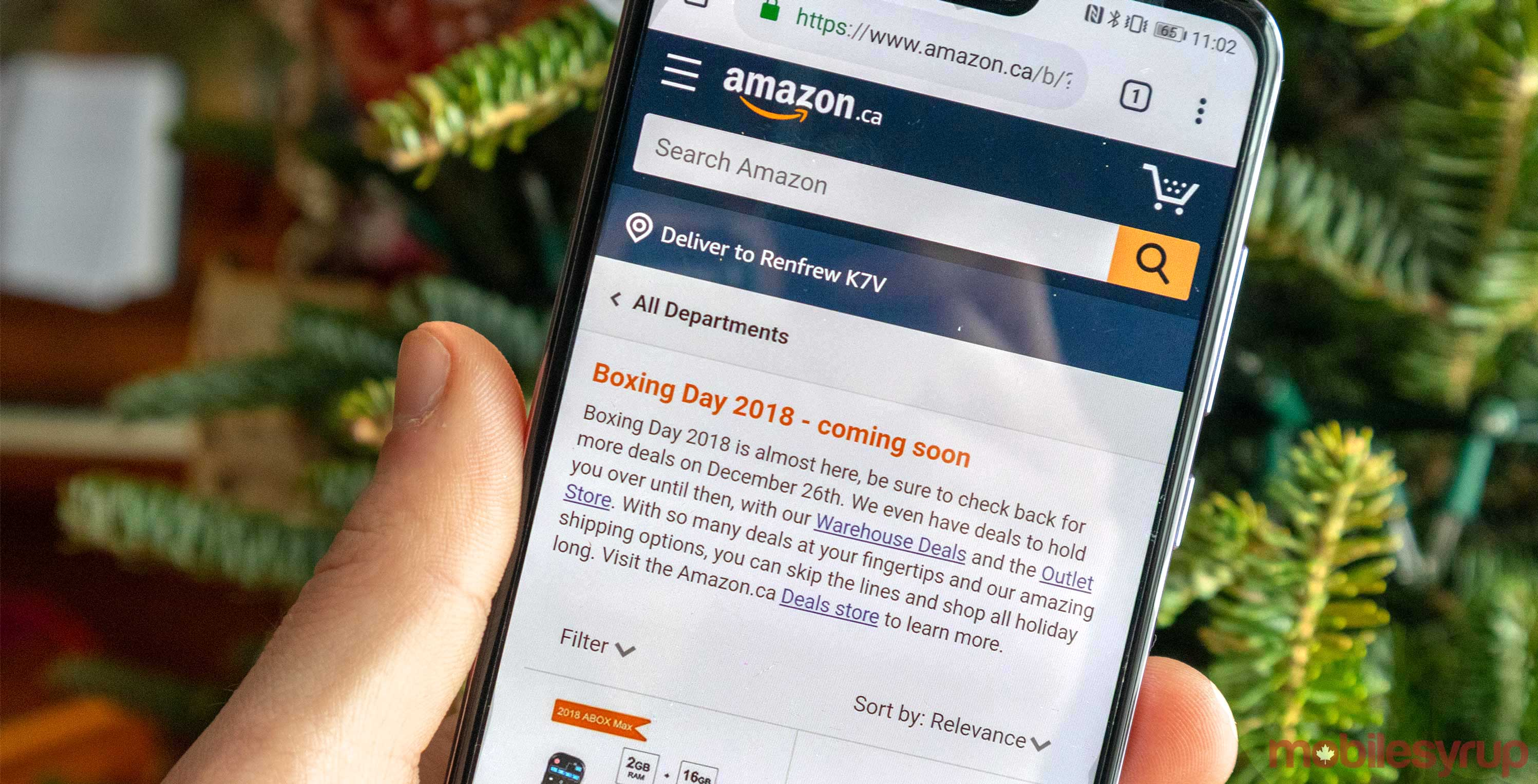 Amazon Canada Gives A Sneak Peek At Boxing Day Deals Mobilesyrup