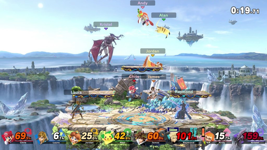 Super Smash Bros. Ultimate battle