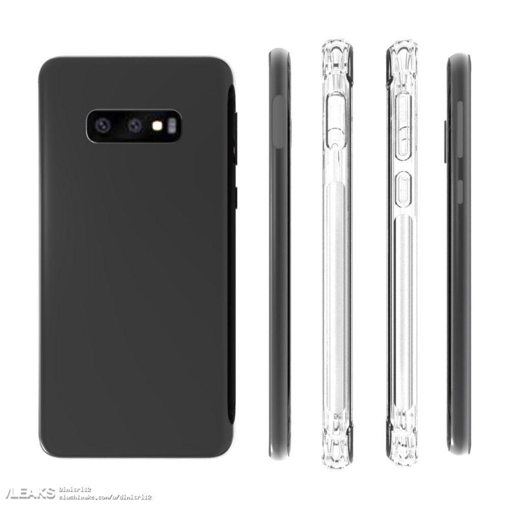 Samsung Galaxy S10 Lite case render