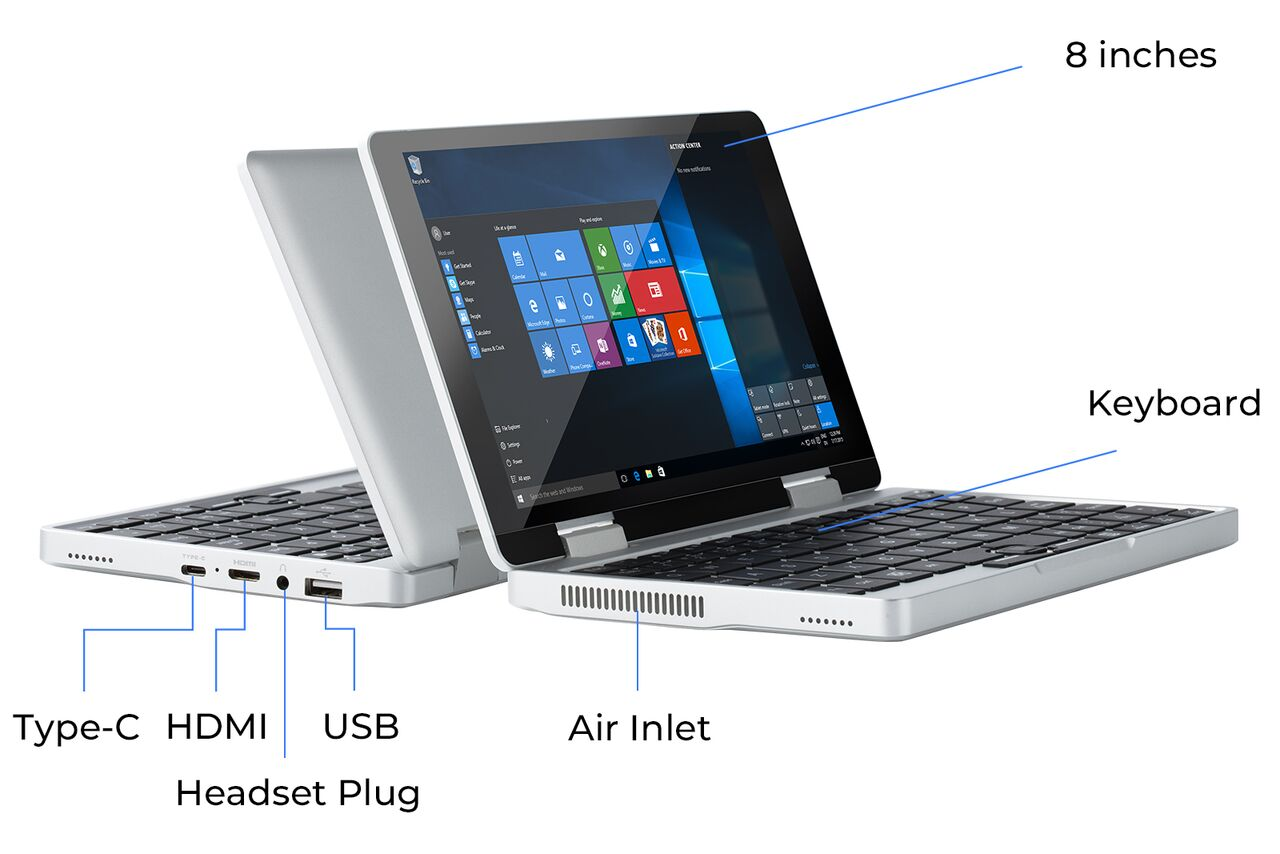 Topjoy's 8-inch Falcon laptop aims to bring Netbooks back from the dead
