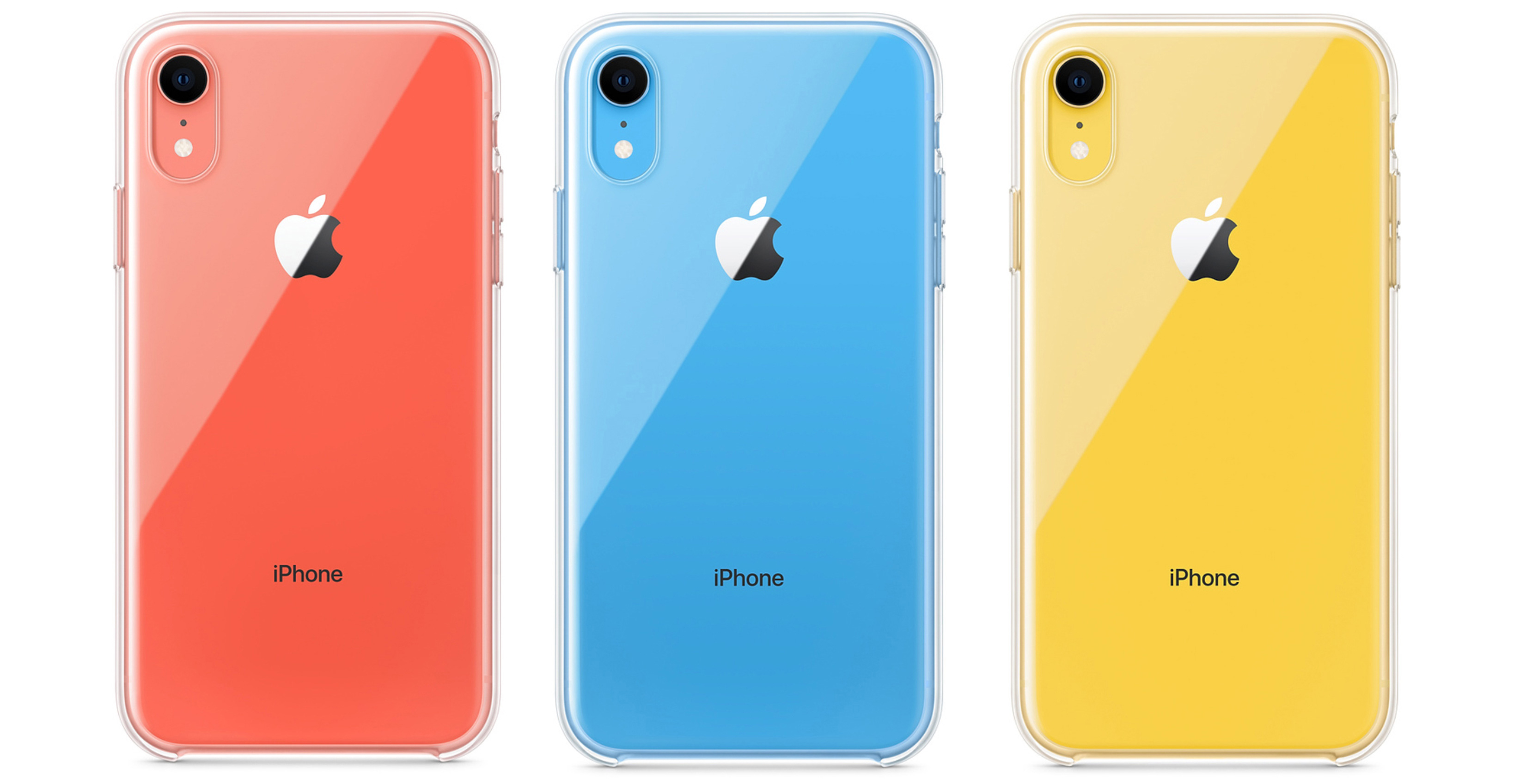 iPhone XR clear cases