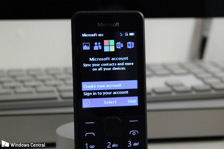Microsoft RM-1182 account integration