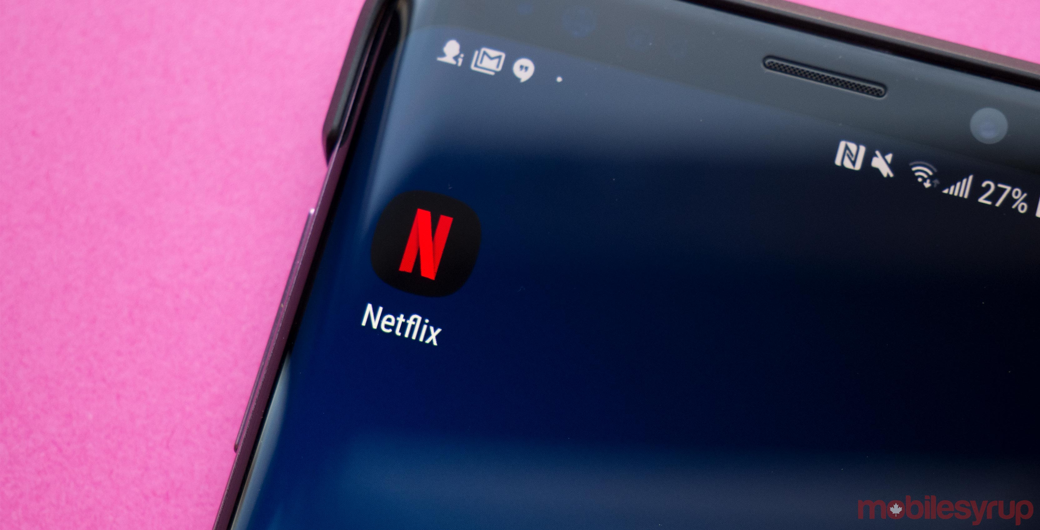Netflix Canada informing subscribers about upcoming price
