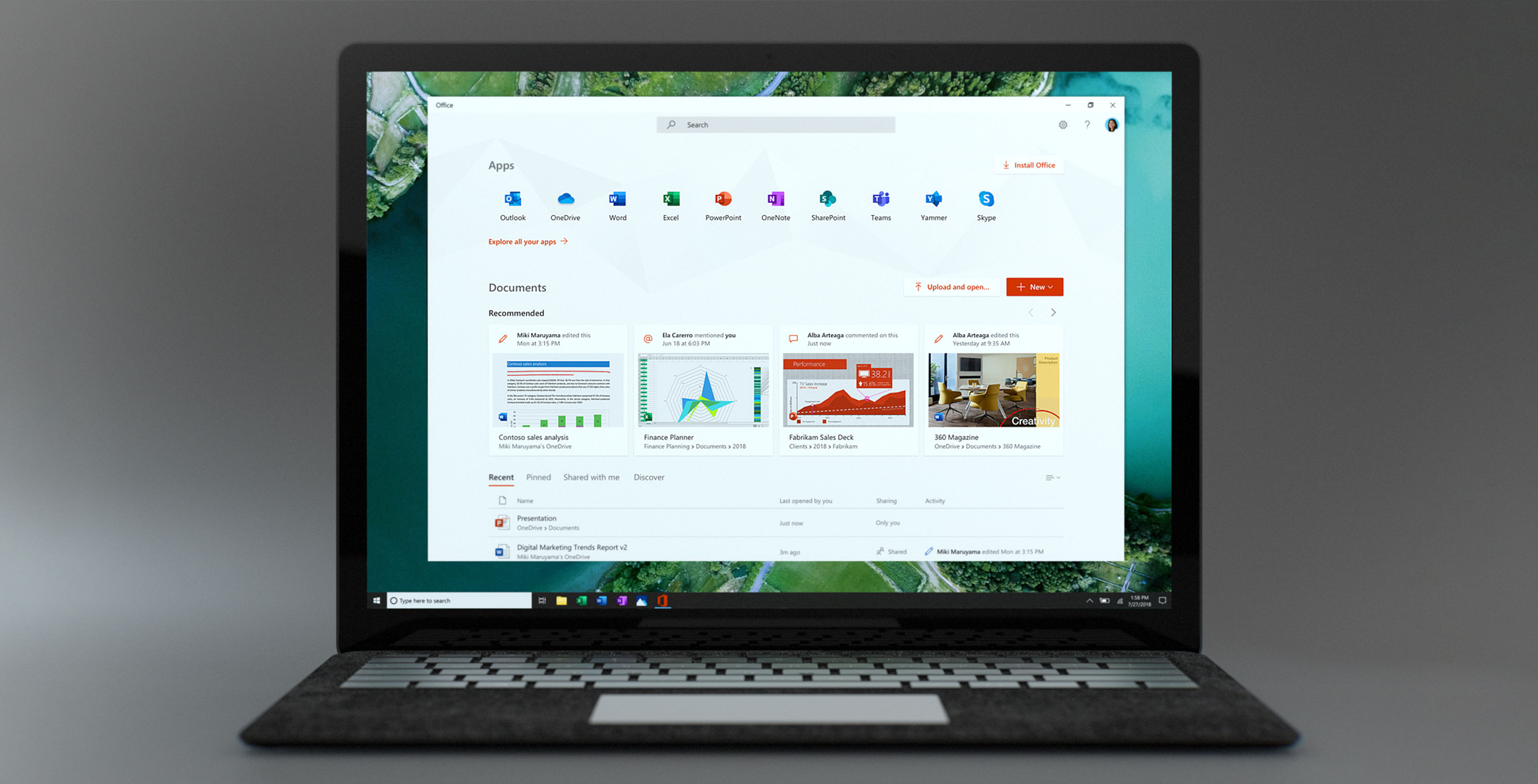 Microsoft has made a free Office app for Windows 10
