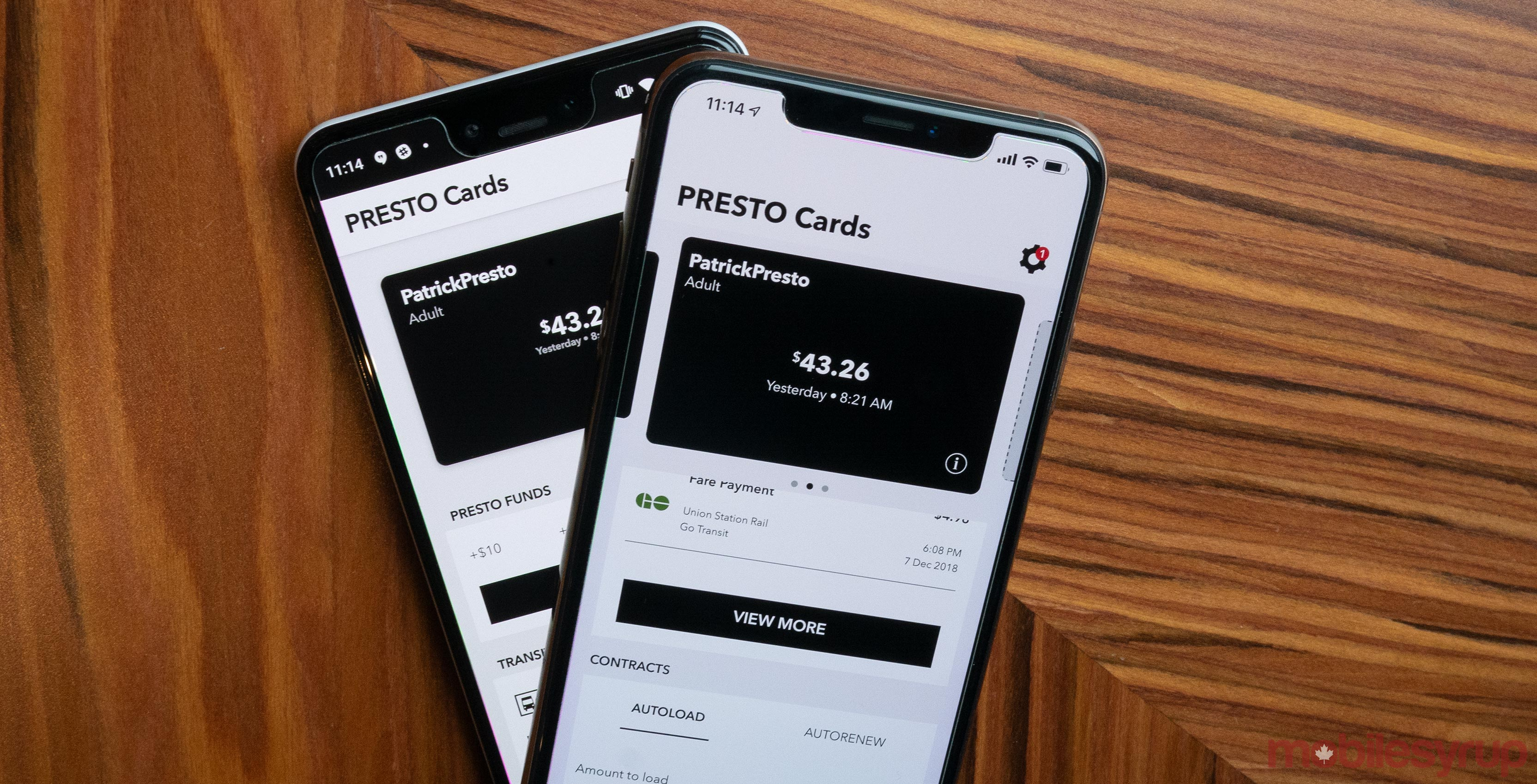 Metrolinx launches new Presto iPhone and Android app