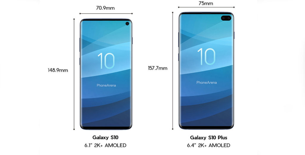 Here are the Samsung Galaxy S10 series and Huawei P30 leaks
