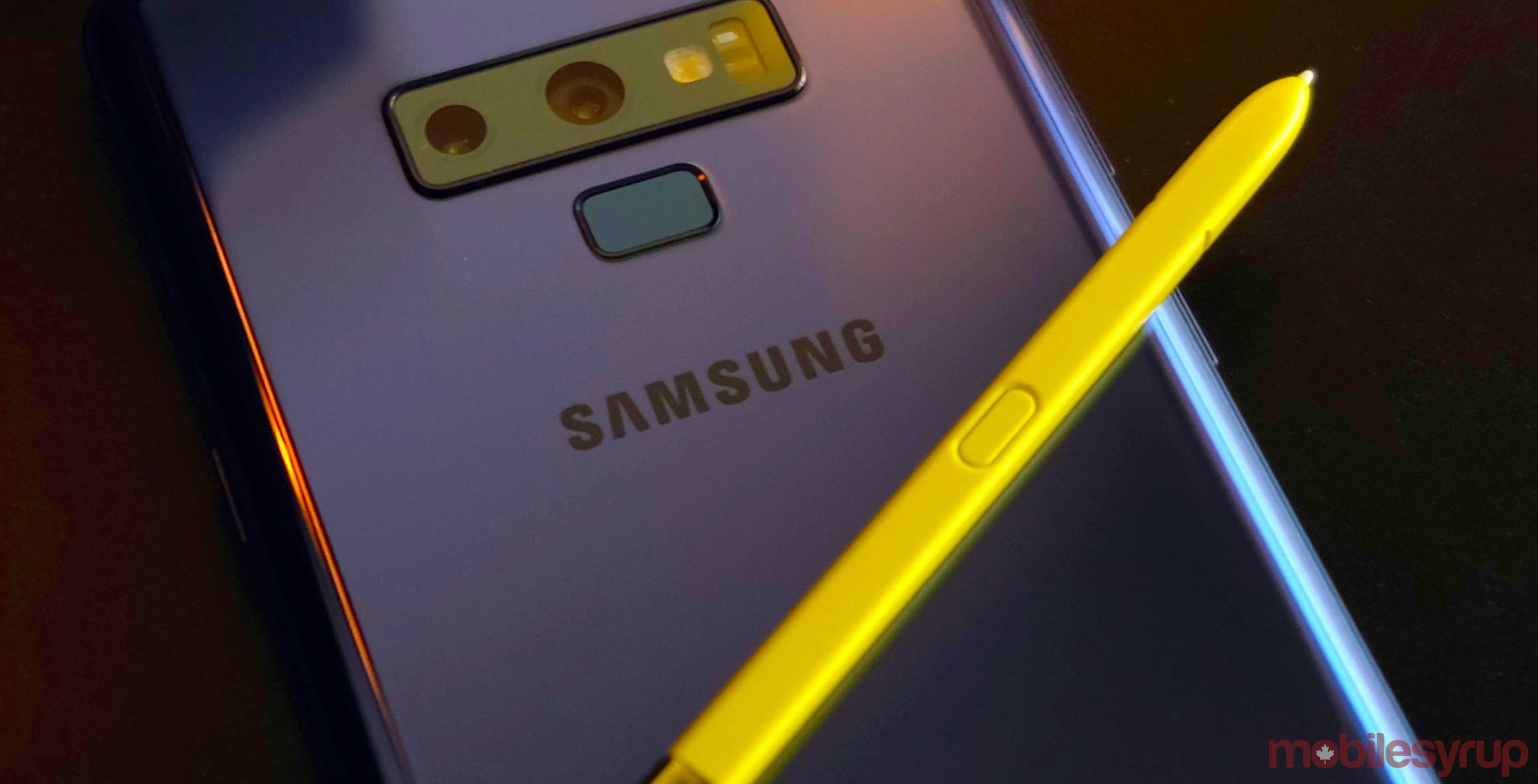 Rogers update schedule says Note 9, S9 and S9+ to get Pie in February